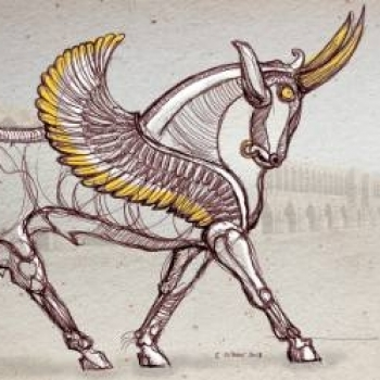 Lux Winged Bull