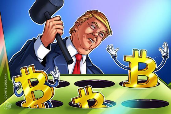 'Bitcoin è solo una truffa' afferma Trump, che sostiene invece l'egemonia del dollaro