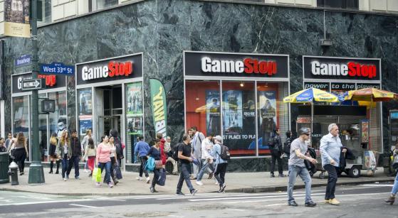 Dopo il botto GameStop crolla a -44%,  ma in after hours torna a salire a +66%