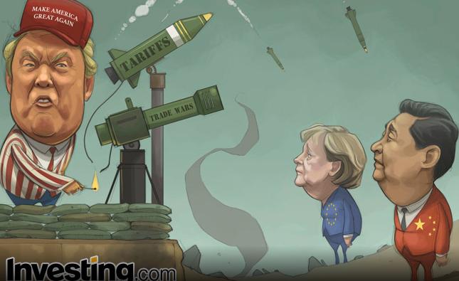 Tariffs Spark Global Trade War Fears