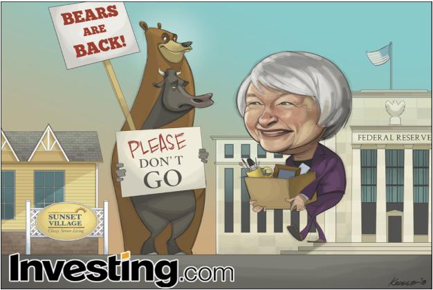 Yellen Says Goodbye